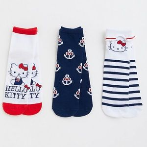 Torrid Hello Kitty Ankle Socks